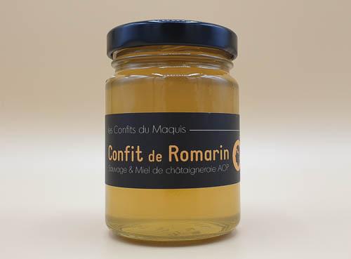 Confit de Romarin sauvage-miel de chataigne AOP corse