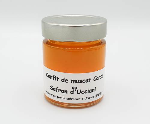 Confit de Muscat Corse au Safran d'Ucciani
