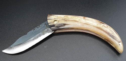 Cornicciolu pliable, couteau de berger corse -18cm-