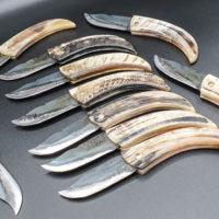 Les différents vrais couteaux corses.
