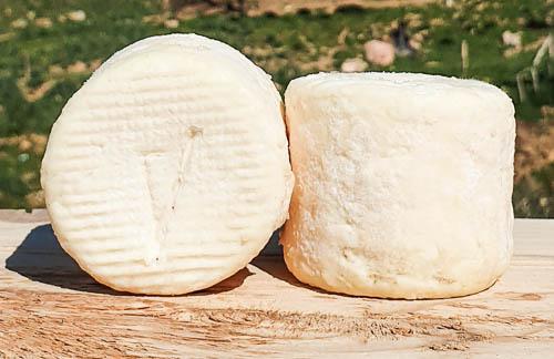 Crottin de chèvre fermier au lait cru -120g-