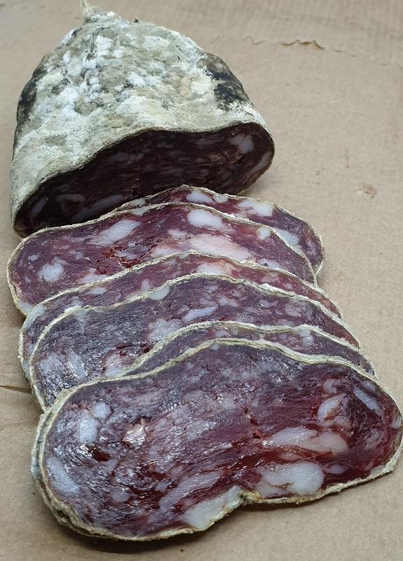 Saucisson Elevage porcs Nustrale AOP charcuterie Corse
