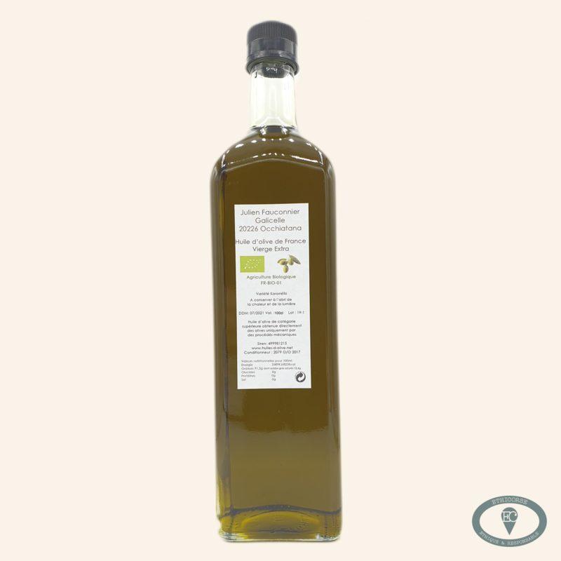 huile d'olive corse bio 1 L julien fauconnier