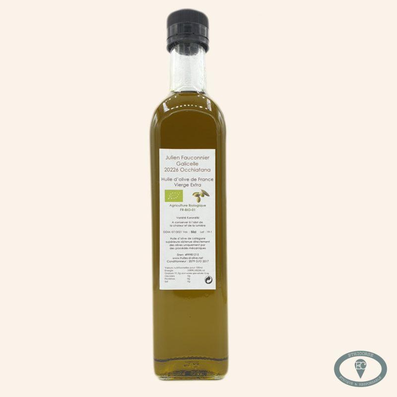 huile d'olive corse bio 50 cl julien fauconnier
