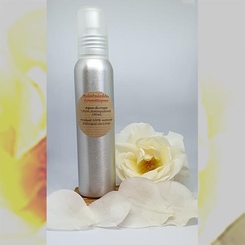 Démaquillant Eau de Rose -Aqua Di Rosia – Apaisant et tonifiant