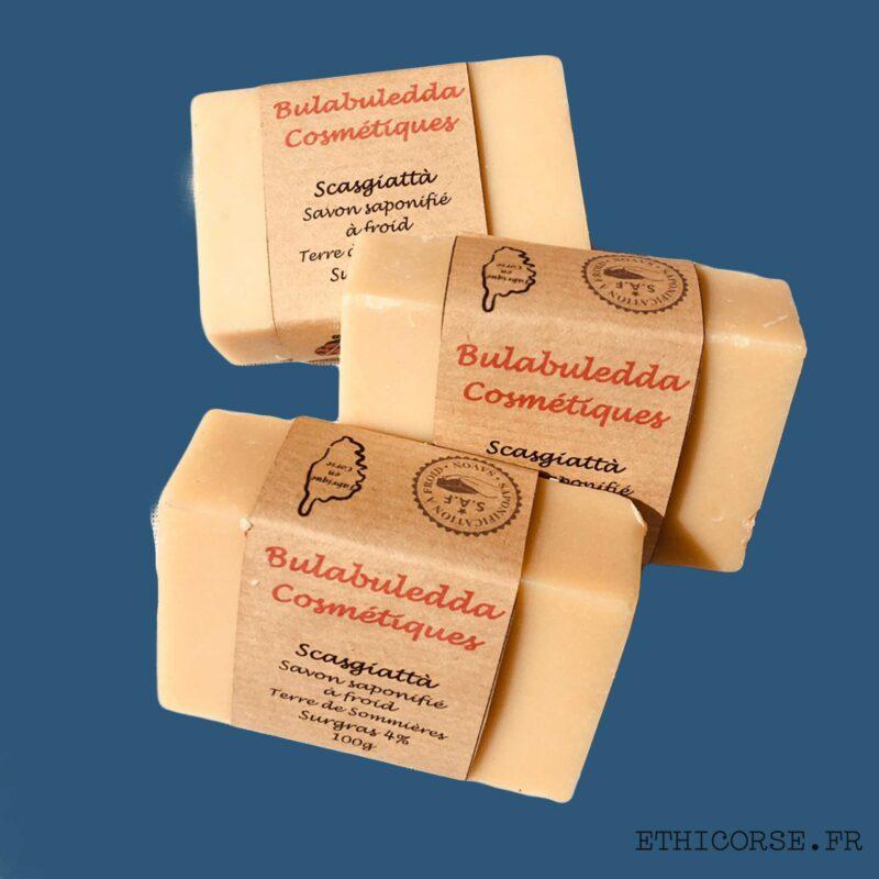 Bulabuledda -Savon de ménage Scasgiatta ménage - Ethicorse.fr
