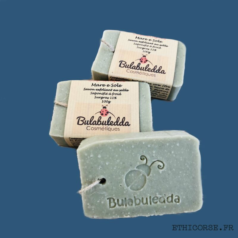 Bulabuledda - savon saponifié à froid Exfoliant - Mare e Sole