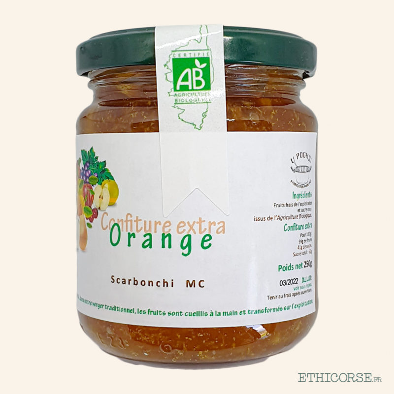 Confiture Orange 250g