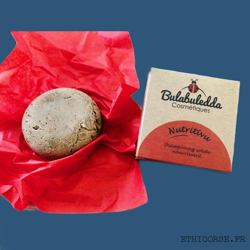 Bulabuledda - shampoing solide Nutritivu - Ethicorse.fr