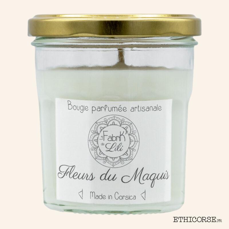 Bougie Parfumée - Fleurs du Maquis