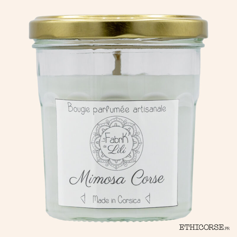 Bougie Parfumée - Mimosa Corse