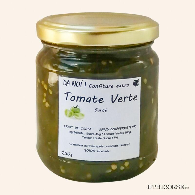 Confiture Tomate Verte de Sartè 250g