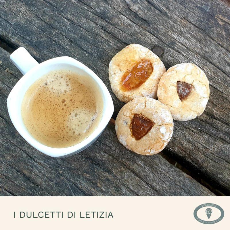 I Dulcetti Di Letizia - présentation avec café -