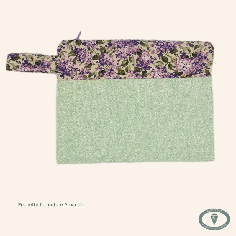 Pochette de rangement en tissus coton