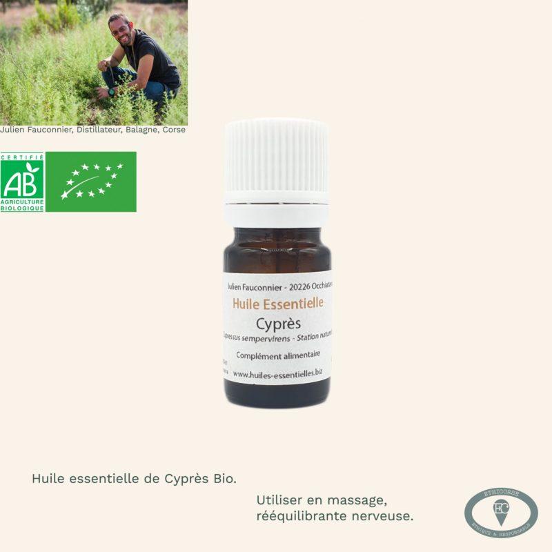 Produit corse - huile essentielle bio -