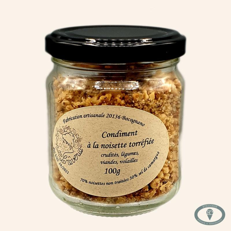 produit corse - sel de noisette - La Rêverie Battini -