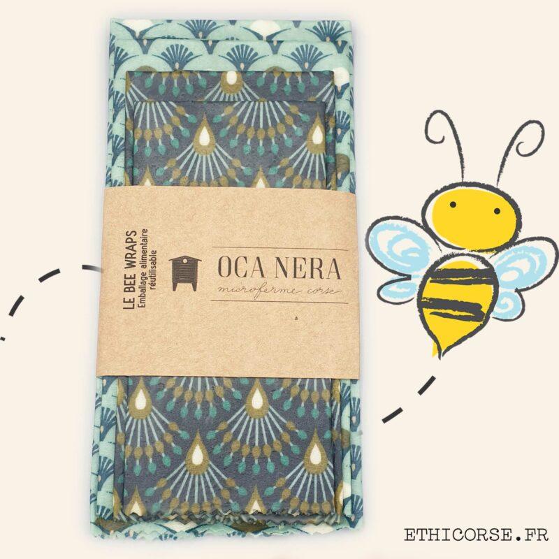 OCA NERA - Ethicorse.fr - Bee Wraps découverte éventail