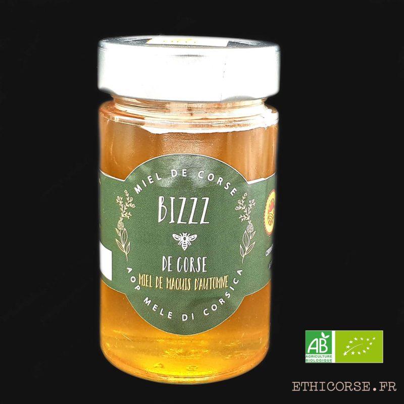 Ethicorse.fr - Miel Arbousier 2 - Miel BIZZZ DE CORSE Bio AOP Di Corsica