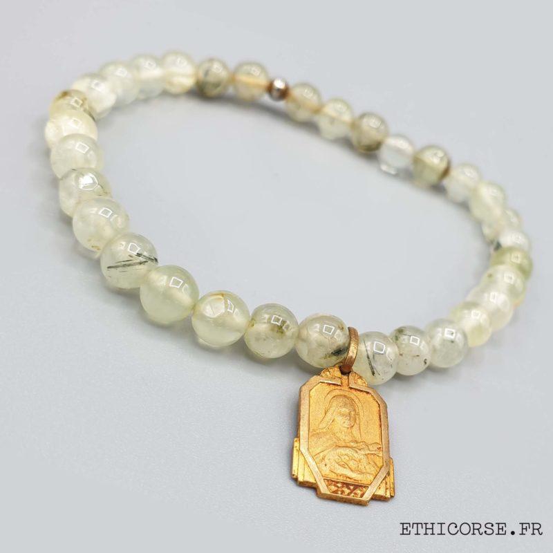 bracelet fantaisie pierres semi précieuses