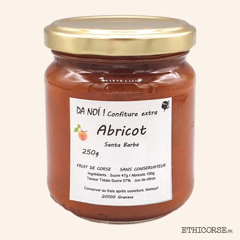 Confiture d'abricot 250g