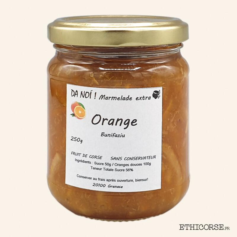 Marmelade d'orange 250g