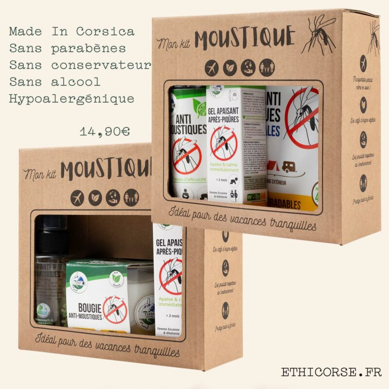 Ethicorse - Terra Nostra - Kits Moustiques 1&2