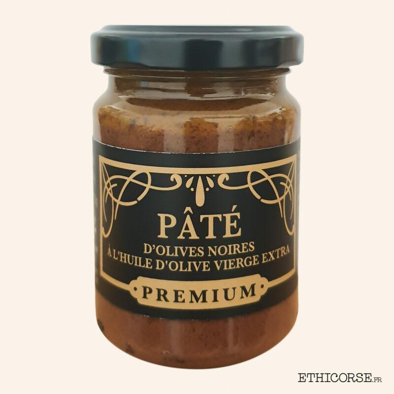 Tapenade - Pâté d'olives noirs Premium 130g