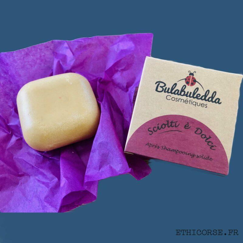 Bulabuledda - Après shampoing solide Sciolti e Dolci - Ethicorse.fr