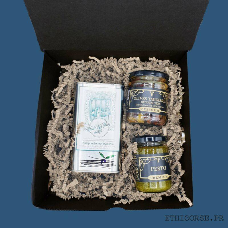 Coffret Ethicorse - Huile d'olive -